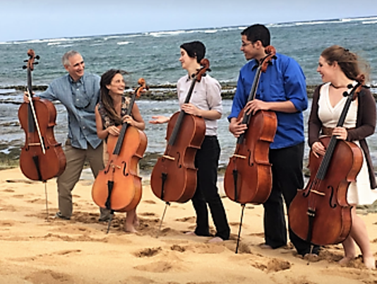 Portland Cello Project in Hawaii