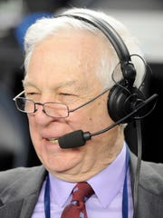 Broadcaster Bill Raftery has become a highlight of the NCAA tournament.
