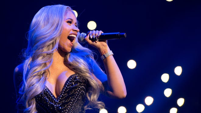 Cardi B performs at at Power 105.1's Powerhouse at Barclays Center in Brooklyn in October.