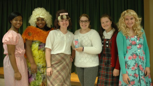 From left to right: Kassidy Beauzil as Little Inez,