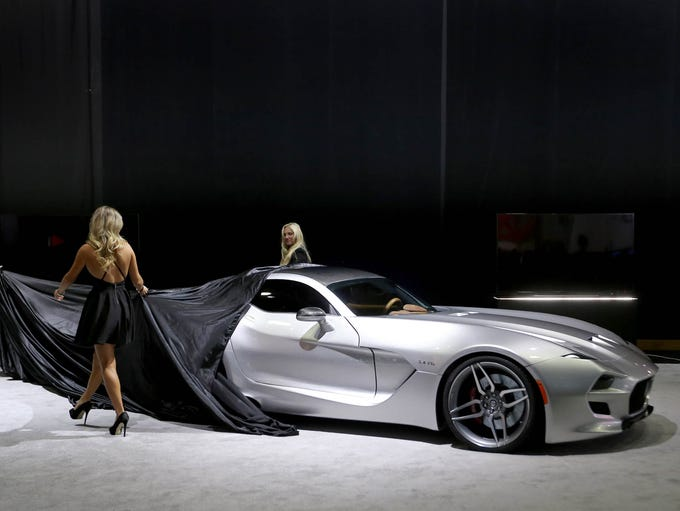 2016 VLF Force 1 Coupe being unveiled during the 2016