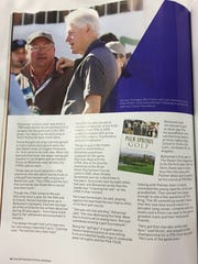 The Desert Sun's Larry Bohannan is featured in the official 2016 ANA Inspiration Tournament Program.