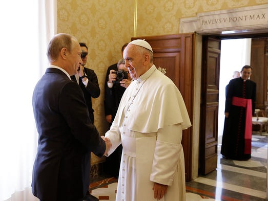 Durante su reunión el Papa Francisco le pidió a Putin