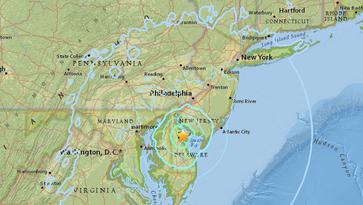 Earthquake strikes Delaware, felt in New York
