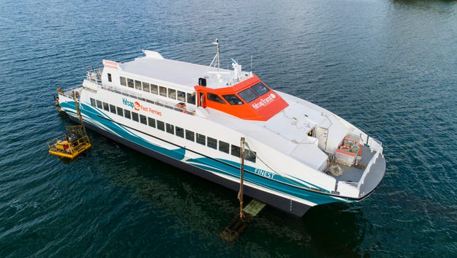 Kitsap Transit is buying two new ferries to serve alongside the M/V Finest. Nichols Brothers Shipyard, which renovated the Finest, will design and build the new boats.