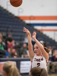 Julie Clouse is one of the three players the Lady Tigers will rely heavily upon this season.