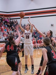 Lexi Evak's height is going to be a difference-maker for the Buckettes this season.