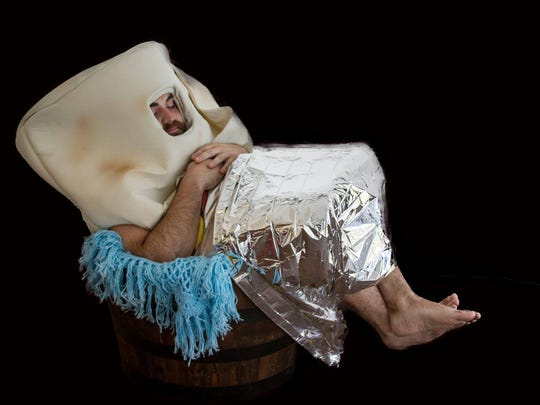 This hairy burrito might be weird, but so is a burrito