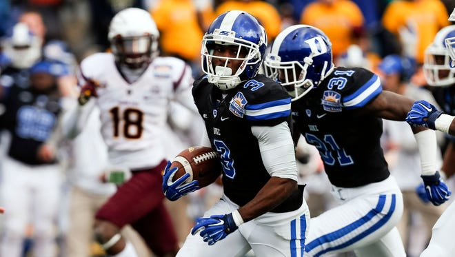 Duke WR Jamison Crowder was a two-sport star in high school.