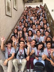 Youth for Youth! Live Guam facilitators pose for a photo at last year's YFY conference, Legacy.