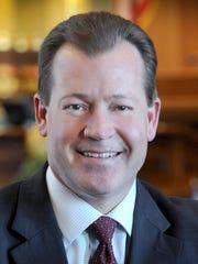 Outgoing state Senate Majority Leader Randy Richardville