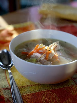 There's no other holiday where the leftovers play as an important role as the main meal as Thanksgiving. Try a Turkey Soup with Stuffed Dumplings.