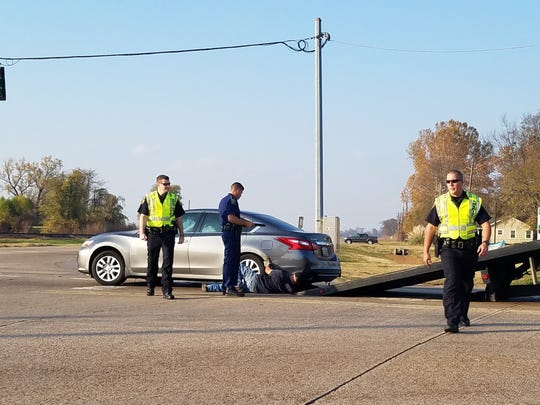 A two-vehicle wreck at the intersection of Kingston Road and La. 3 on Nov. 29 sent a driver to the hospital, BPSO Lt. Bill Davis said.