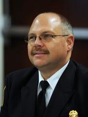 Farmington Hills  Fire Chief Jon Unruh.