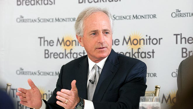 Congress is unlikely to agree on a long-term fix for the depleted Highway Trust Fund before a May 31 deadline, and Republicans are to blame, Sen. Bob Corker said Wednesday.
