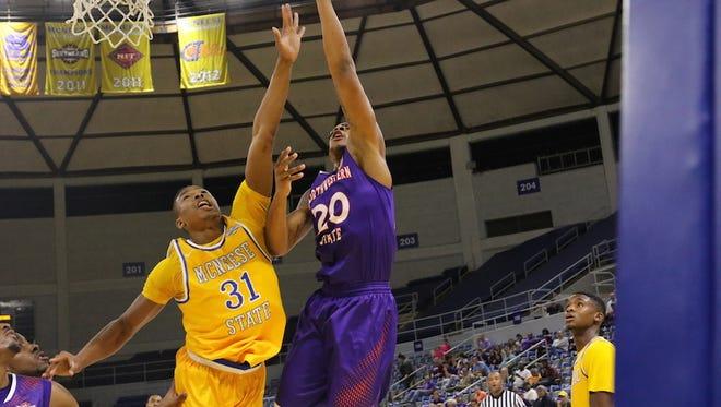 - Sophomore center Ishmael Lane scored 10 points for NSU.