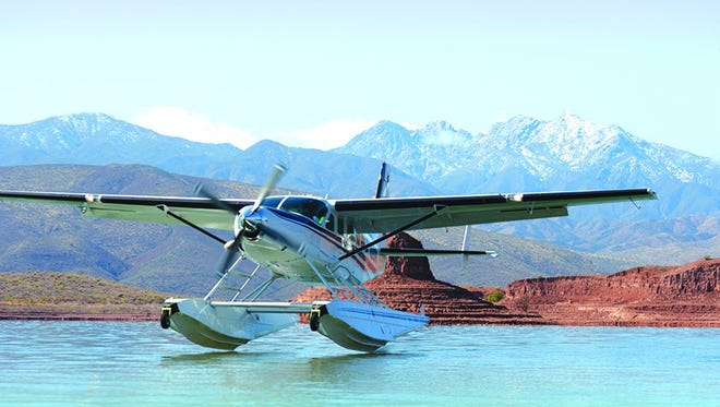 The Rabbit Island brunch series is an exclusive opportunity to ride in a custom-built, nine-passenger Cessna seaplane.