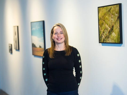 Heather Ferrell, seen in Burlington on Friday February 17, 2017, is the new Curator and Director of Exhibitions at Burlington City Arts.