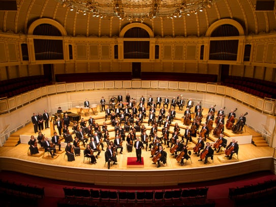 The Chicago Symphony Orchestra. Photo by Todd Rosenberg.