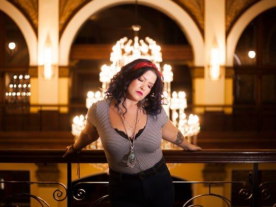 Singer-songwriter Vanessa Olivarez has benefited from