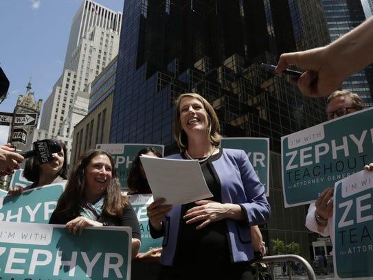 Zephyr Teachout announces her Democratic Party candidacy
