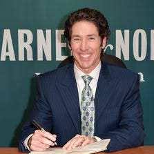 """Joel Osteen promotes """"Every Day A Friday: How To Be Happier 7 Days A Week"""" in New York on September 14, 2011."""