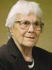 Pulitzer Prize-winning Alabama author, Harper Lee,