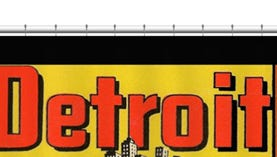 Gift of the day: A Motor City shower curtain.