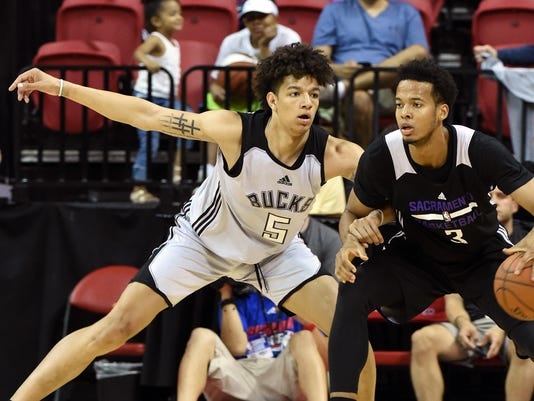 2017 Las Vegas Summer League - Sacramento Kings v Milwaukee Bucks