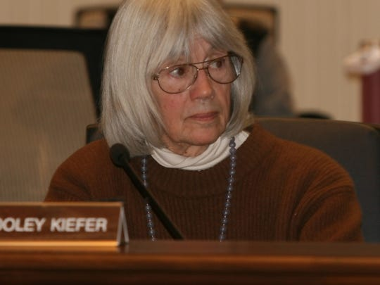 Tompkins County Legislator Dooley Kiefer, D-Cayuga Heights.