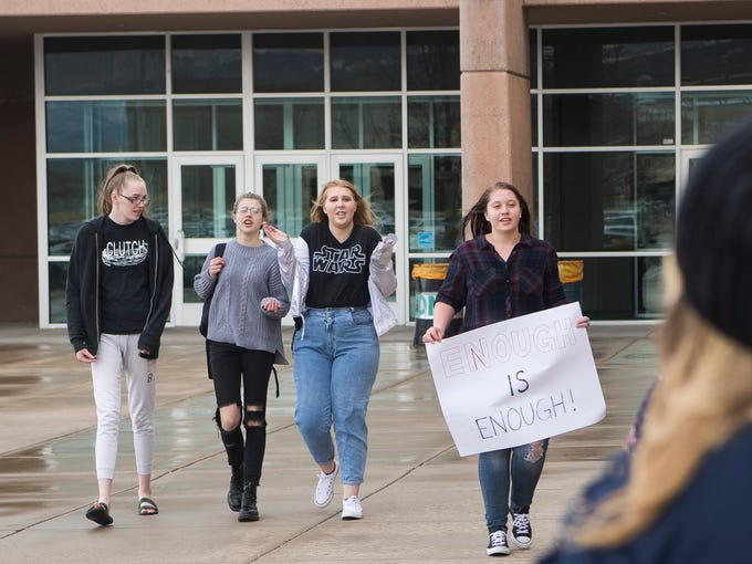 Canyon View High students in Cedar City participate