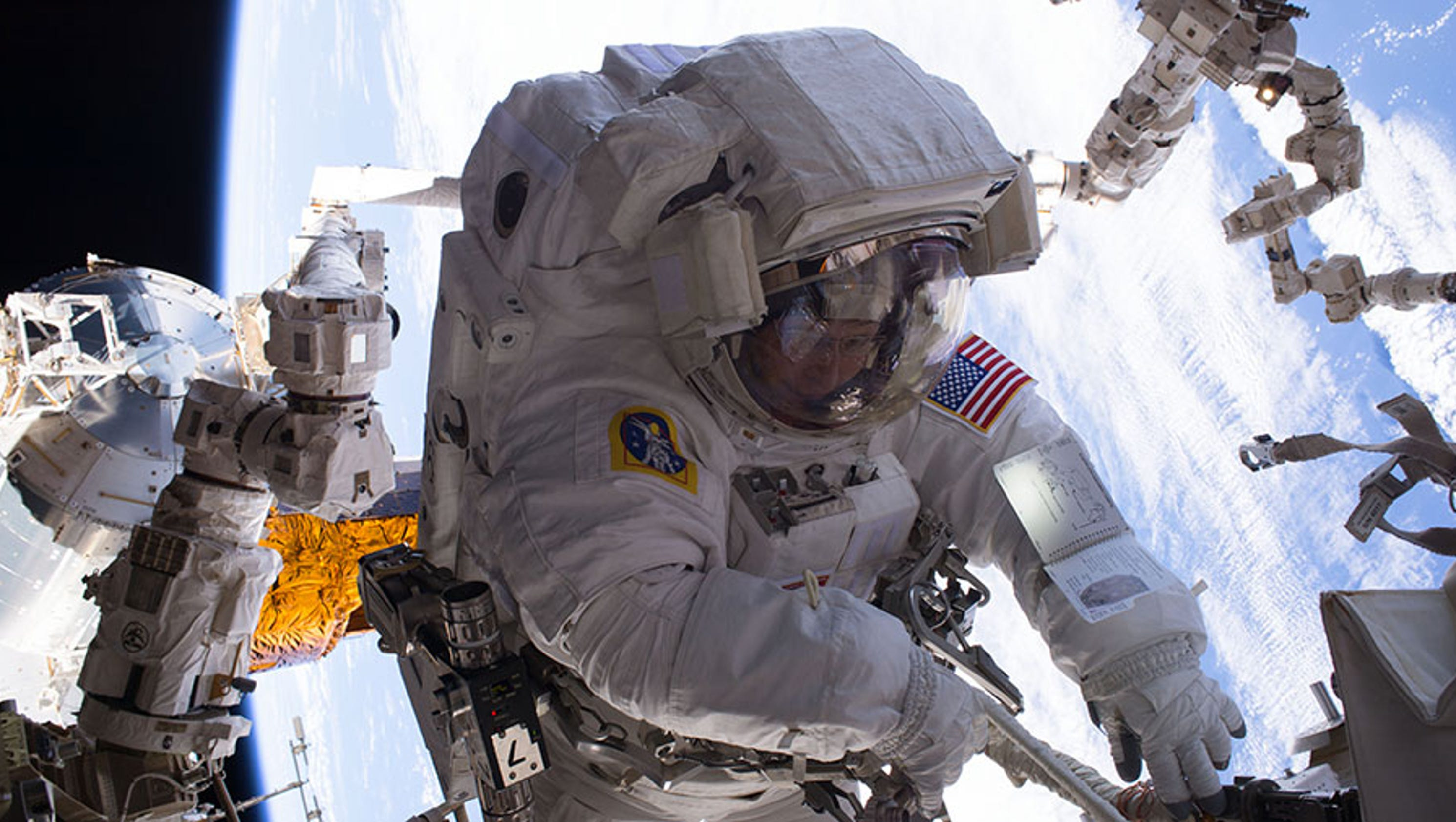 Watch Live: Astronaut space walk from the space station