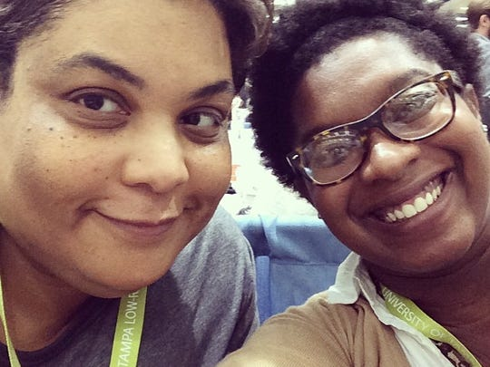 Ashley Ford (right) lists Roxanne Ford as one of the 10 women who changed her life