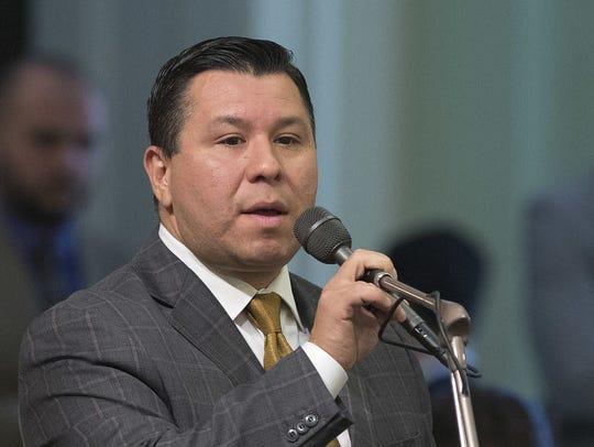 State Rep. Eduardo Garcia Assembly member Eduardo Garcia,