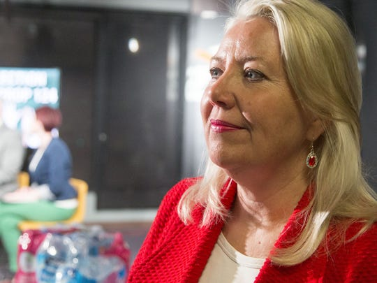 State Sen. Debbie Lesko, R-Peoria, on election night,