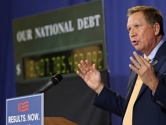 John Kasich balanced budget plan