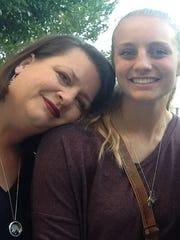 Benton's Jill and Sarah Koeppen