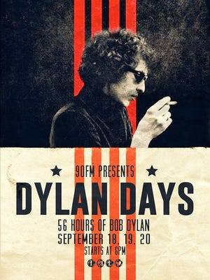 Dylan Days will be broadcast  Friday through Sunday on WWSP 90FM, the University of Wisconsin-Stevens Point's student-run radio station.