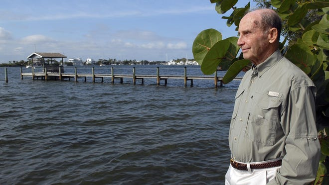 Dave Botto, who lobbied for stricter fertilizer ordinances along the Indian River Lagoon, remembers how seafood thrived decades ago in the lagoon.