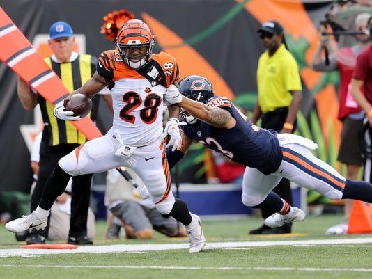 080918_BENGALS KE, Chicago Bears at Cincinnati Bengals preseason game Week 1