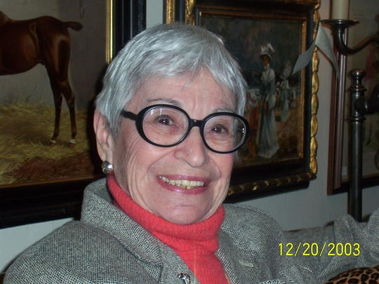 Ellie Jacobs died Sunday at age 95. She worked for Greenbaum Interiors for 60 years.