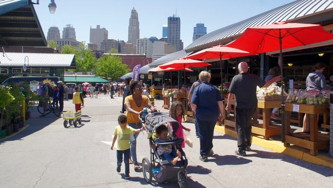 City Market resides on 11 acres in the historic River Market neighborhood between downtown Kansas City and the Missouri River.