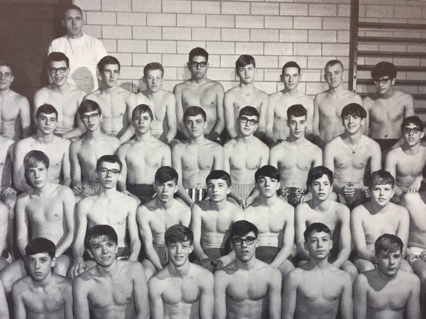 Female nude swim teams