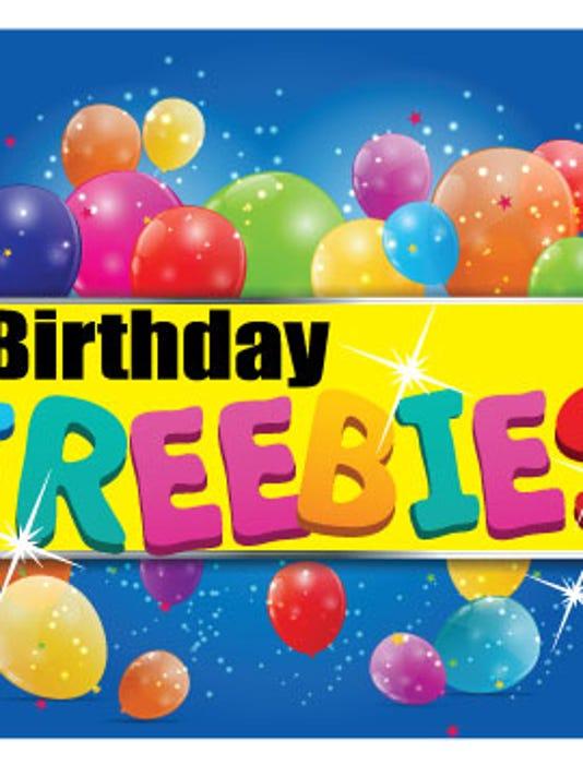 FRM birthday freebies sidebar