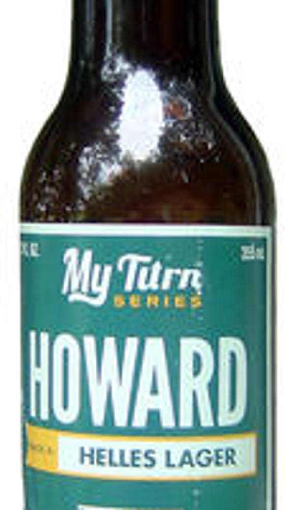 Howard Helles Lager is made by the Milwaukee brewer