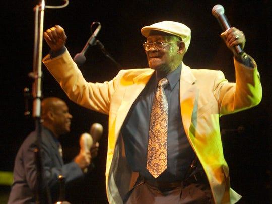 Cuban vocalist Ibrahim Ferrer of the Buena Vista Social