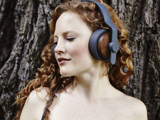 Designed with walnut earcups and walnut enclosures, OEHP Solid Wood Over Ear Headphones provide both a warm look and a warm sound.