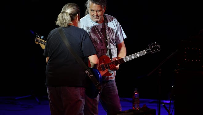 Meat Puppets perform after being inducted into the Arizona Music & Entertainment Hall of Fame on Thursday, Aug. 17, 2017 at Celebrity Theatre in Phoenix.