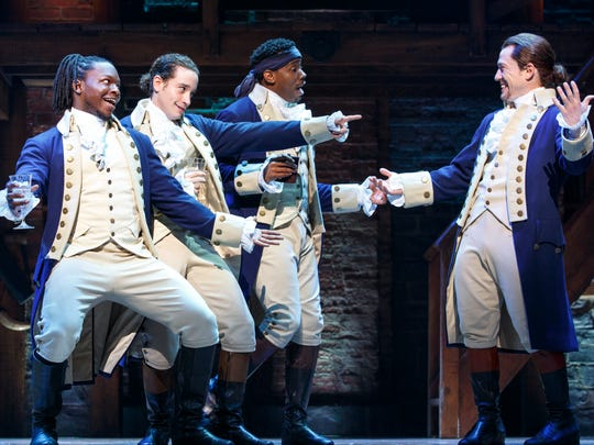 "The road show of ""Hamilton"" will land in Louisville"