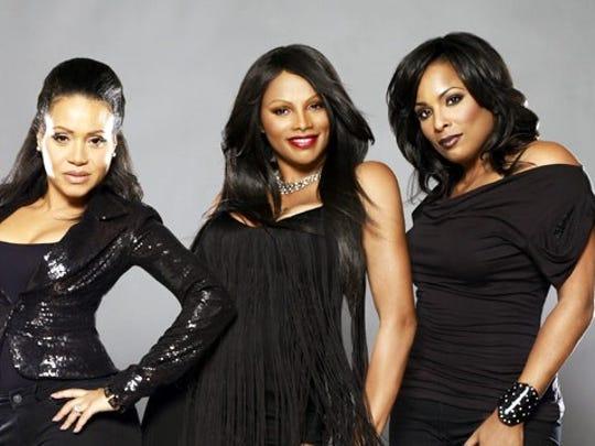 "Cheryl ""Salt"" James (from left), Sandra ""Pepa"" Denton and Deidra Roper, also know as ""DJ Spinderella."""